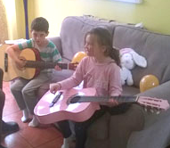 kids with guitars
